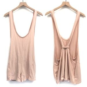 UO Silence + Noise Light Pink Romper - Size S